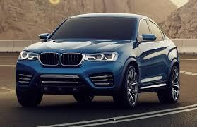 BMW X4 M на дороге