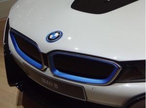 BMW i8 фото бампер