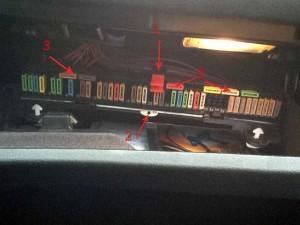 bmw e39 предохранители в багажнике