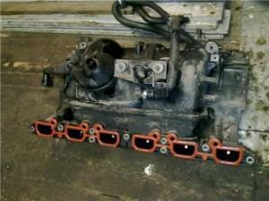 коллектор и клапан ВКГ bmw