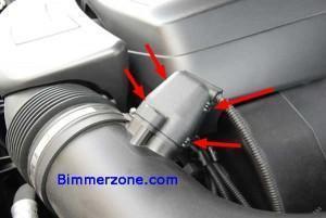 датчик воздуха bmw 550i