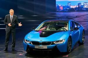 Начало продаж BMW i8