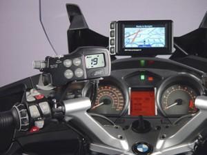 радио мотоцикла BMW