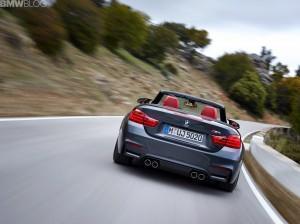 в дороге BMW M4 кабриолет