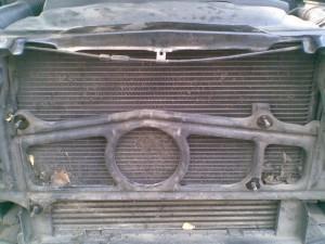 грязный радиатор bmw