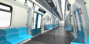 салон метро в Малайзии