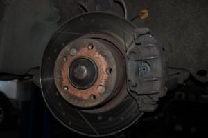 старые тормозные диски bmw 7