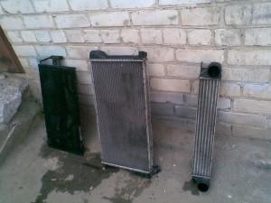 чистый радиатор m57