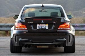 BMW 1M купе от Dinan сзади