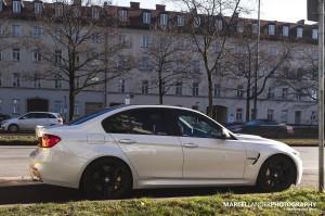 BMW M3 (F80) на дороге