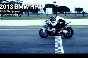 BMW HP4 драг рэйсинг
