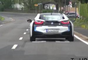 BMW i8 трасса в Нюрбурге