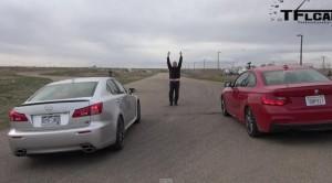 BMW M235i против Lexus IS
