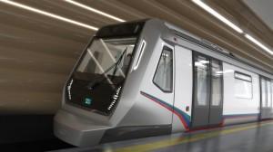 bmw поезд метро в Малайзии