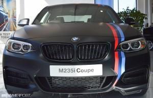 Тюнинг BMW M235i матовый цвет