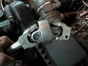 замена крестовины BMW E53