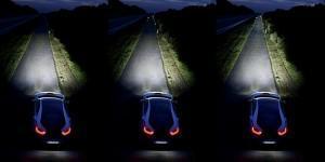 лазерный свет bmw