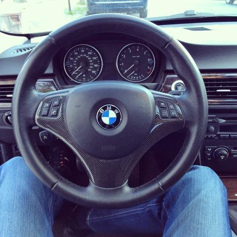 Бмв руль своими руками