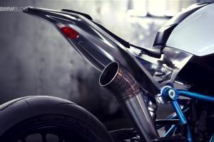 BMW мото родстер выхлоп