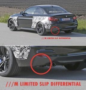 BMW M2 (F87) диференциал