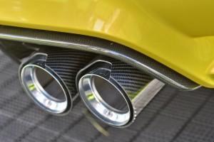 BMW M3 и M4 выхлоп