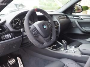 BMW X4 M салон