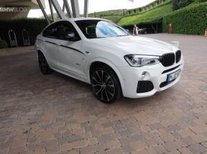 BMW X4M сбоку