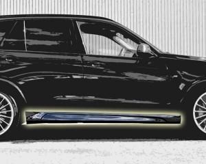 BMW X5 2015 Hamann сбоку