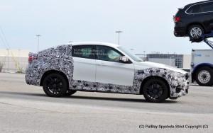BMW X6 M модификации 2016 сбоку