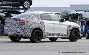 BMW X6 M сзади