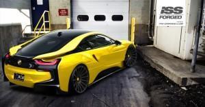 BMW i8 новые колеса