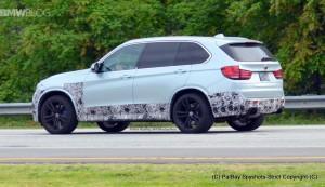 F85 BMW X5M 2015 сзади