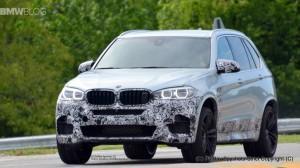 F85 BMW X5M 2015 спереди