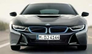 реклама для BMW i8