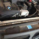 Как заменить помпу(элетро водяной насос) на BMW E70 3.0si