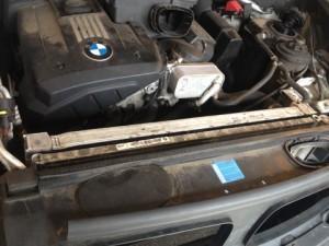 замена помпы BMW E70