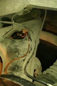 замена тормозный трубки e34