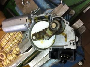 мотор омывателя bmw x3 разобраный