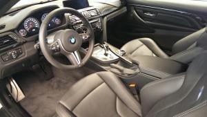 салон нового BMW m4