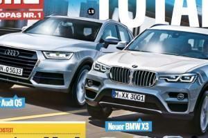 характеристики BMW X3 G01 2017 года