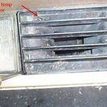 Инструкция по замене датчика температуры воздуха на BMW E32(7 серия)