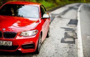 BMW M235i красный Трансфэгэрэшан