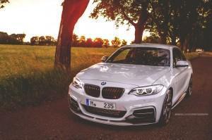 BMW M235i с M Performance передний бампер