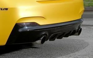 BMW M235i тюнинг выхлоп