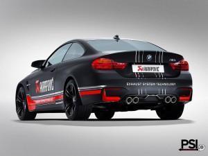 BMW M4(выхлопная система Akrapovic)