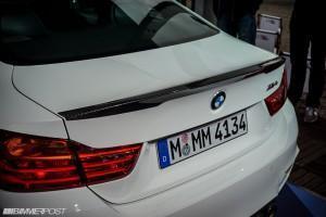 BMW M4 Performance Parts сзади