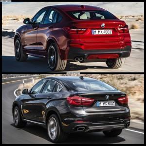 BMW X4 и BMW X6