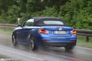 M235i Кабриолет дождь