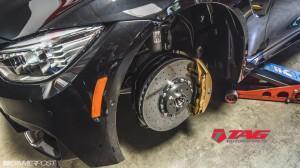 Тюнинг от TAG Motorsports колодки тормоз