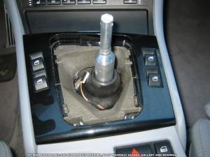 голый рычаг КПП BMW M3